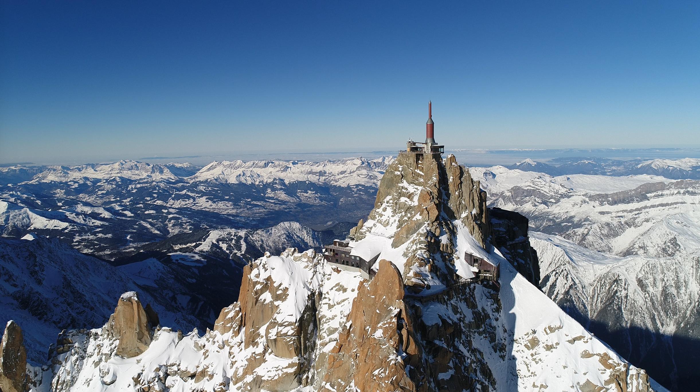 Chamonix, mégastructures au sommet !